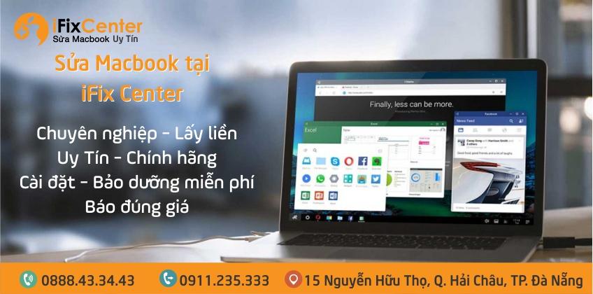 Sửa macbook chuyên nghiệp, uy tín nhất khu vực Đà Nẵng