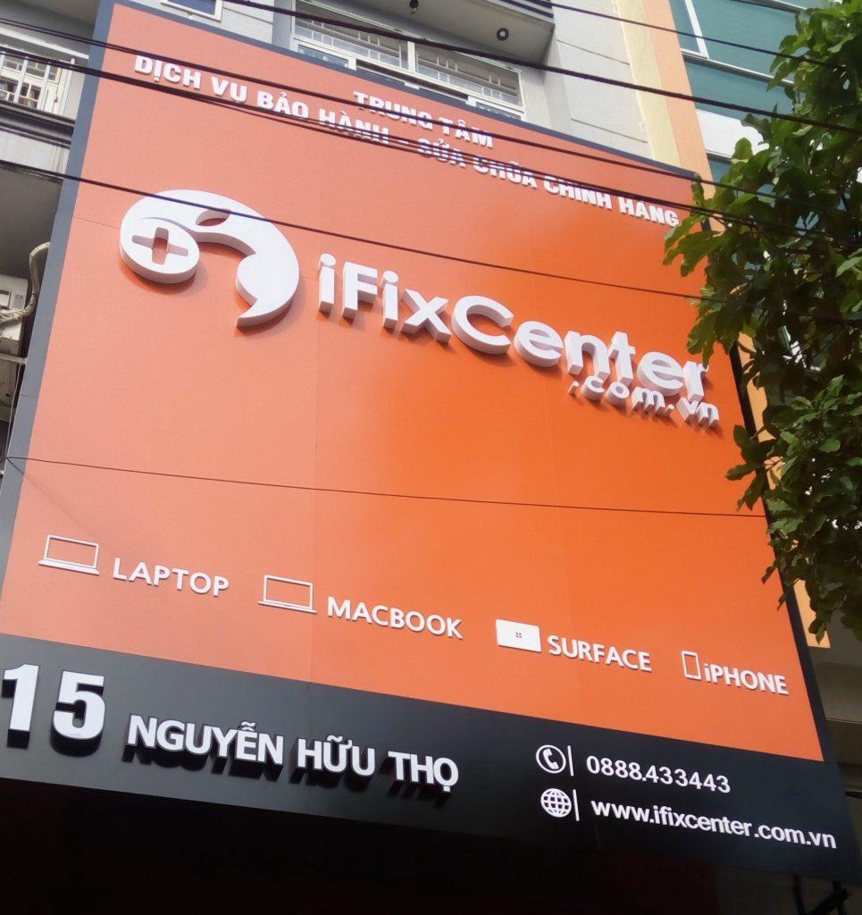 iFix Center nhận sửa macbook cho các cửa hàng Apple